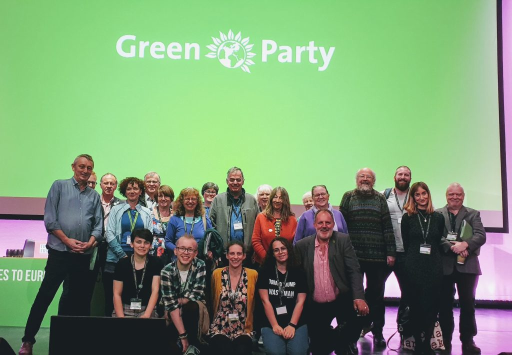 Wales Members At Conference